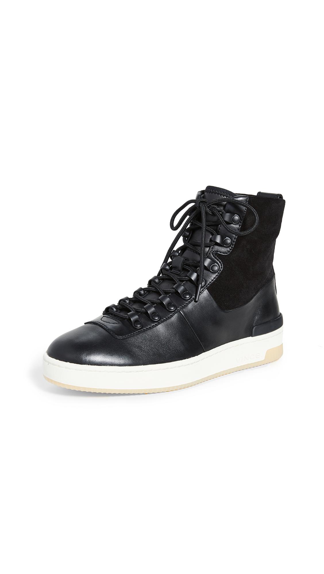 Buy Vince online - photo of Vince Rowan High Top Sneakers