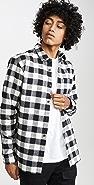Vince Buffalo Check Long Sleeve Flannel Shirt