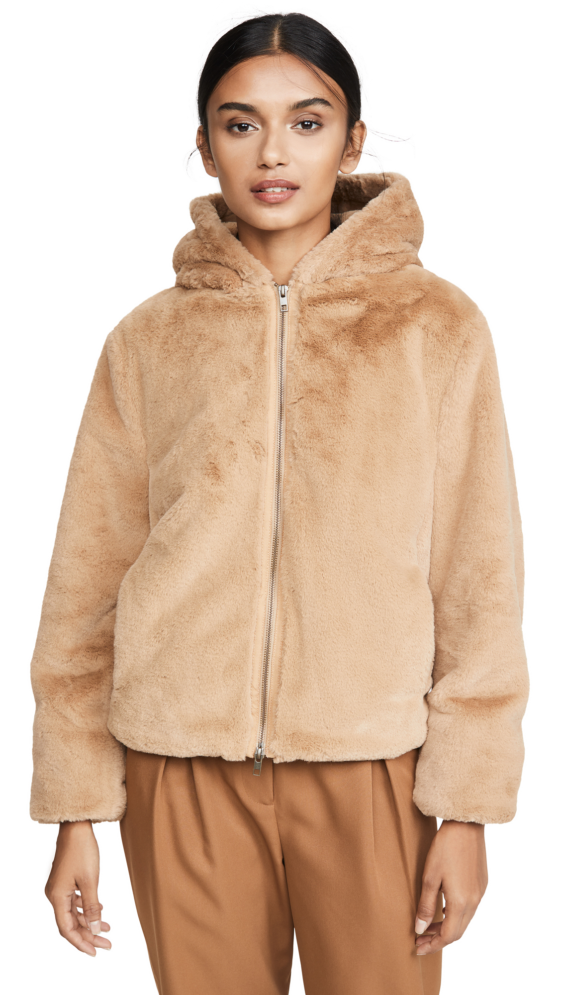Buy Vince Plush Hoodie online beautiful Vince Jackets, Coats, Down Jackets