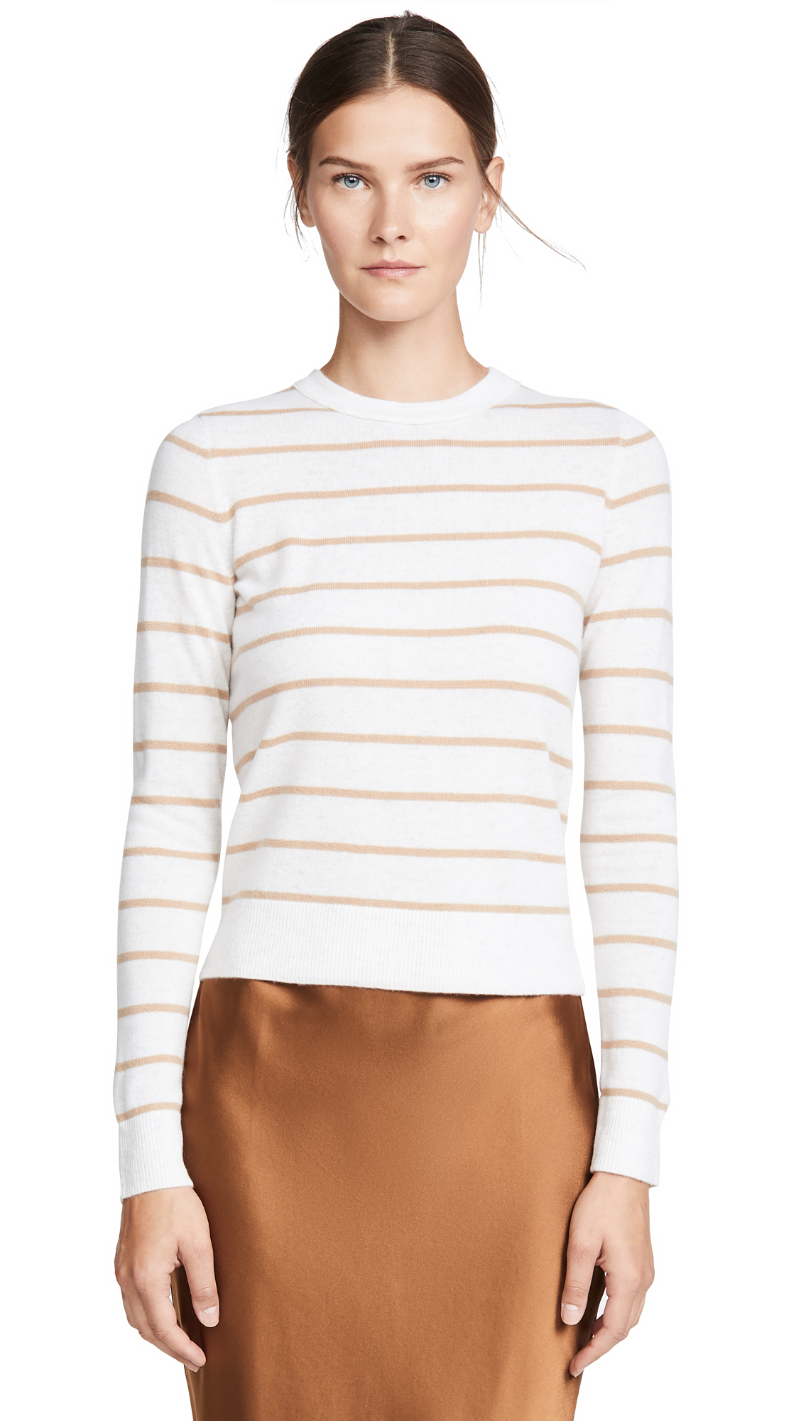 Buy Vince online - photo of Vince Striped Cashmere Sweater