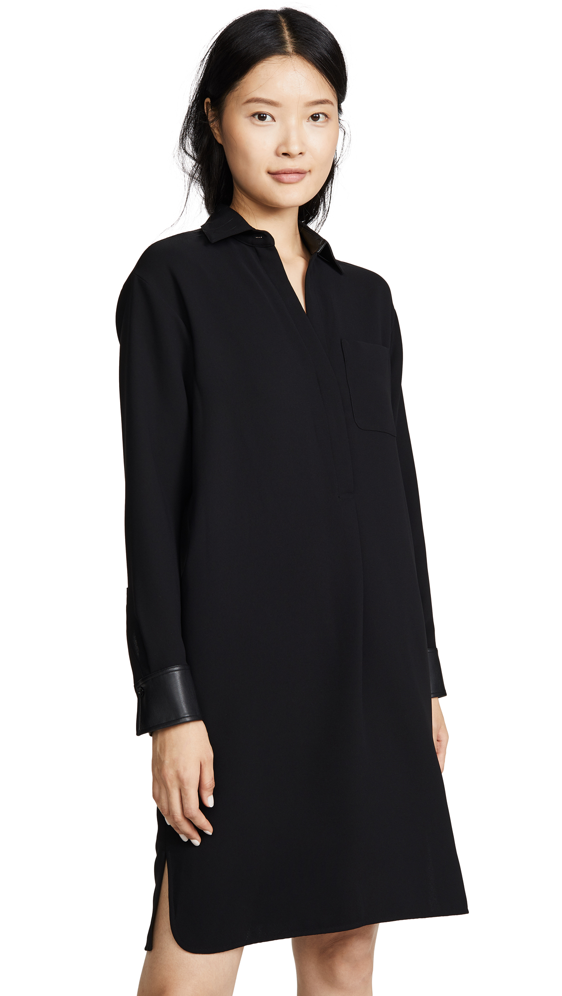 Photo of Vince Shirt Dress - shop Vince Clothing, Dresses online