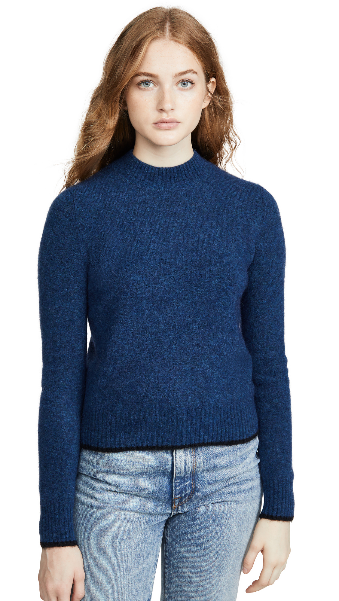 Buy Vince online - photo of Vince Contrast Tip Pullover