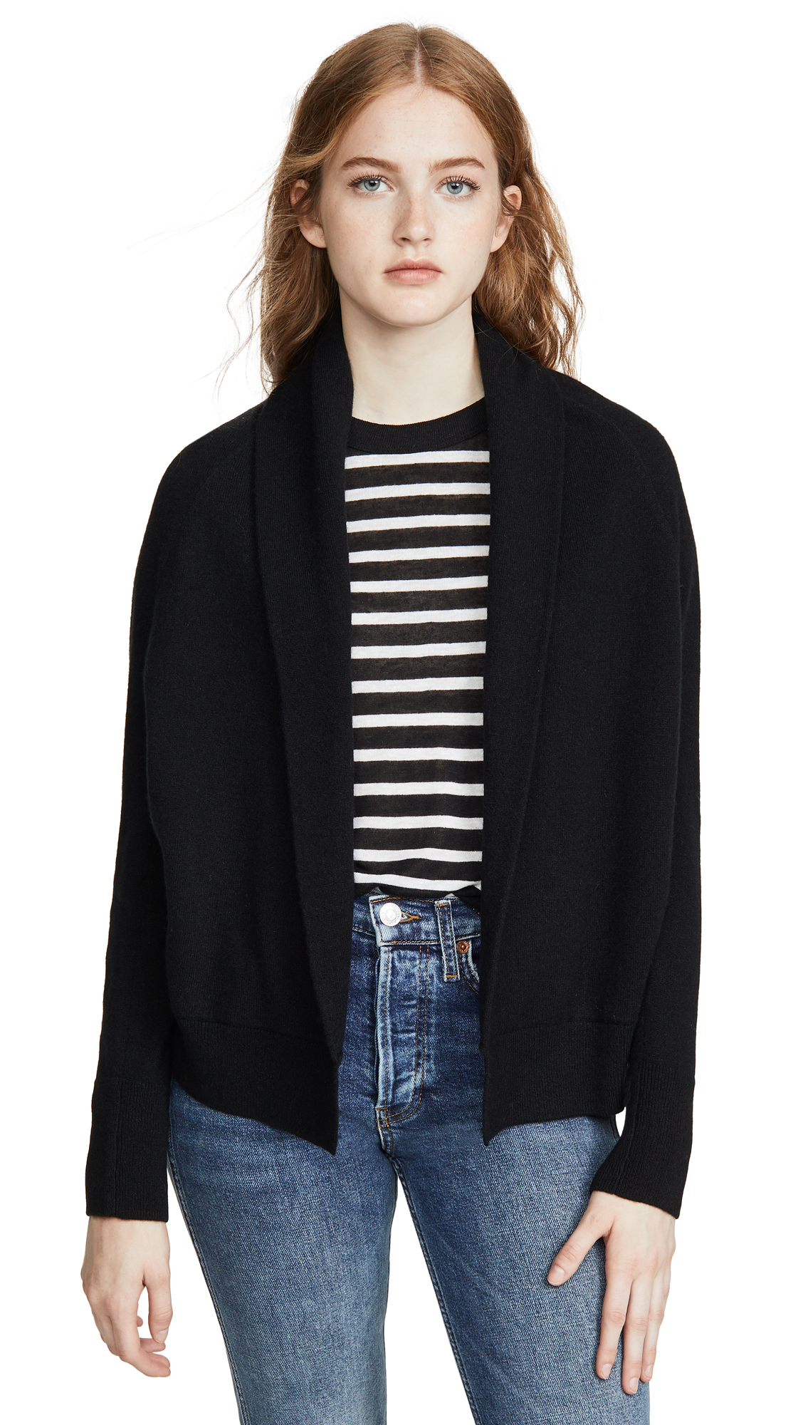 Buy Vince online - photo of Vince Shawl Cashmere Cardigan