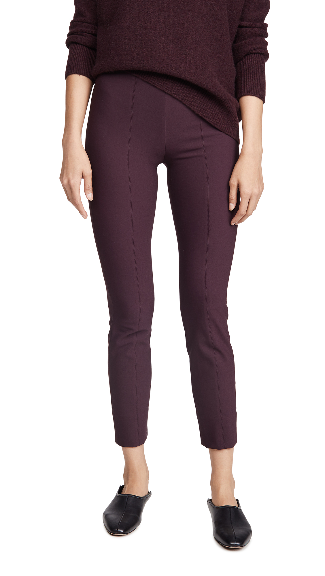 Buy Vince online - photo of Vince Stitch Front Seam Leggings