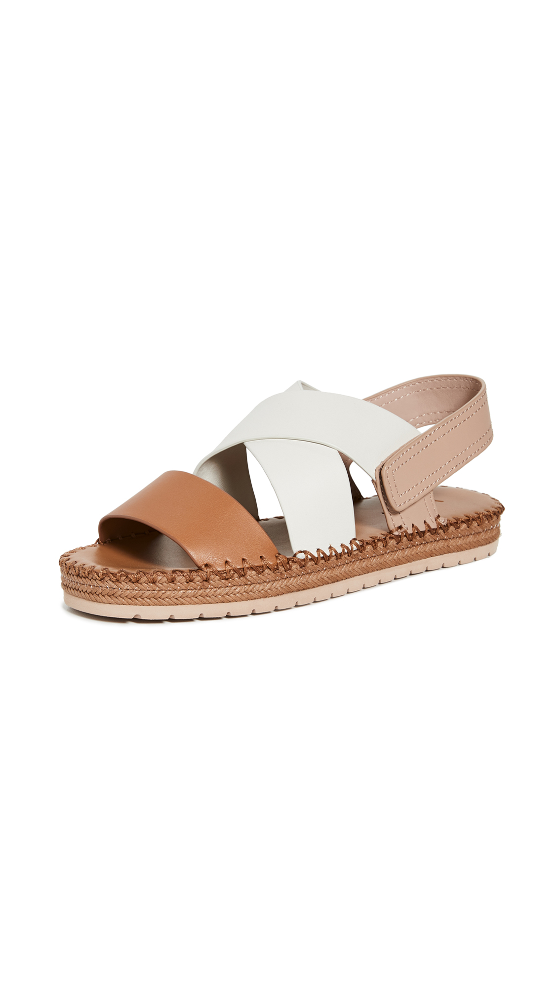 Photo of Vince Tenison 2 Sandals - shop Vince Sandals, Flat online