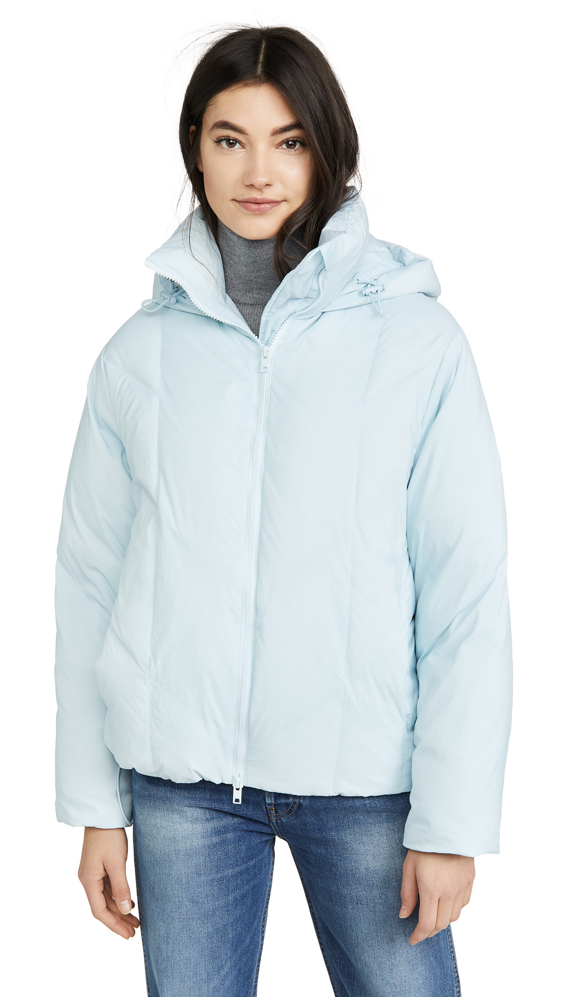 Buy Vince online - photo of Vince Hooded Puffer Jacket