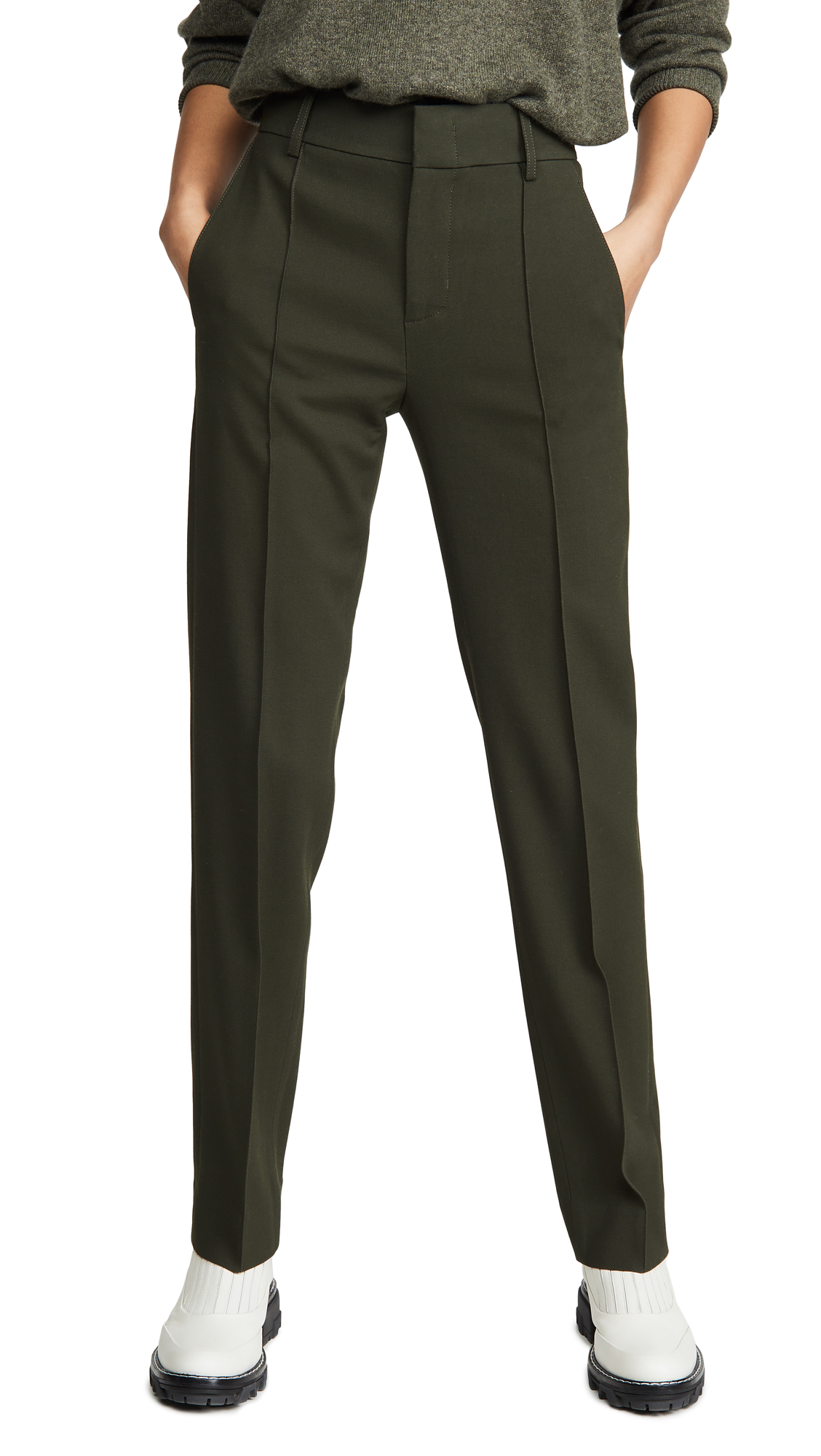 Buy Vince online - photo of Vince High Waist Tailored Pants