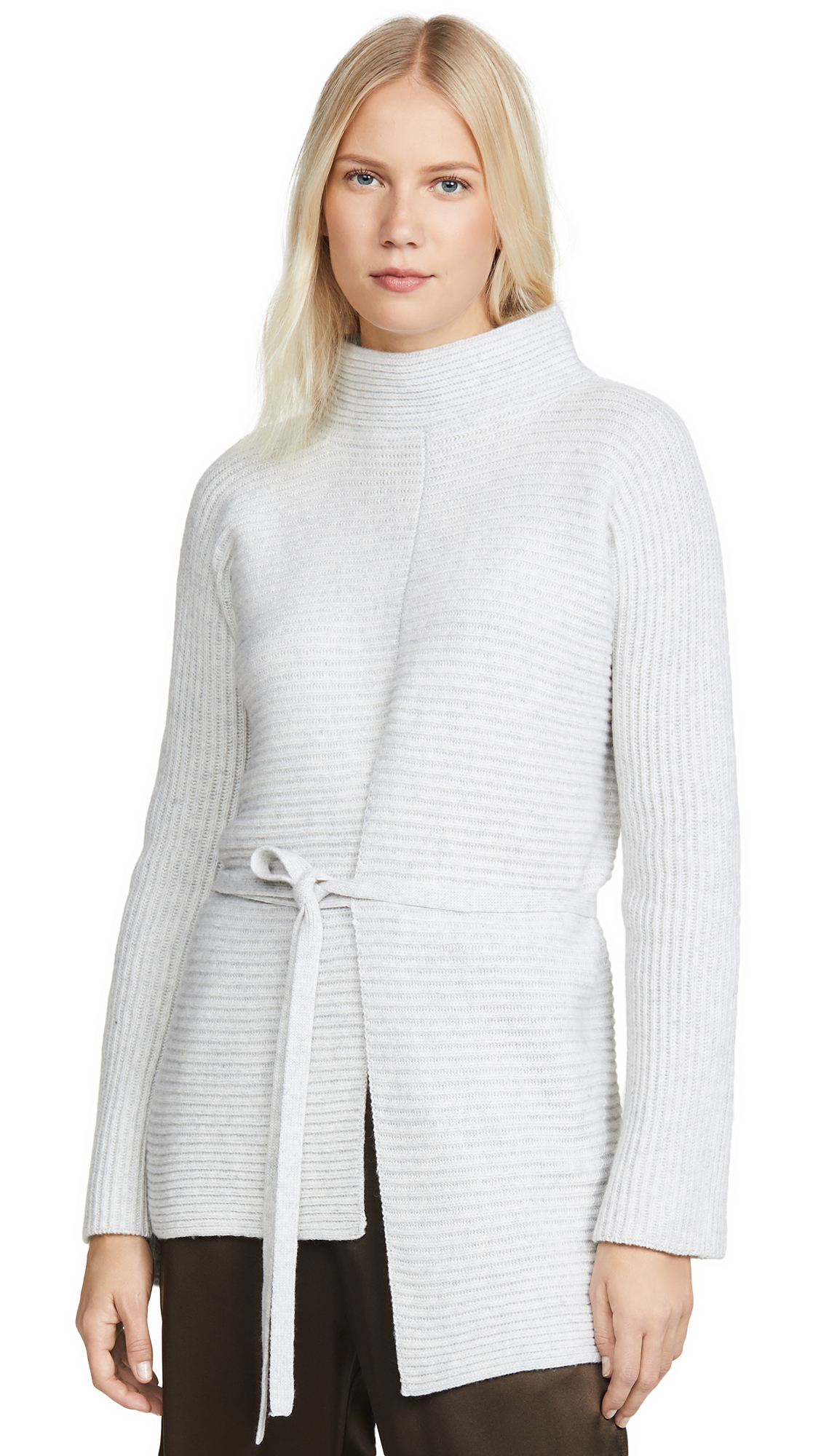 Buy Vince online - photo of Vince Tie Front Tunic