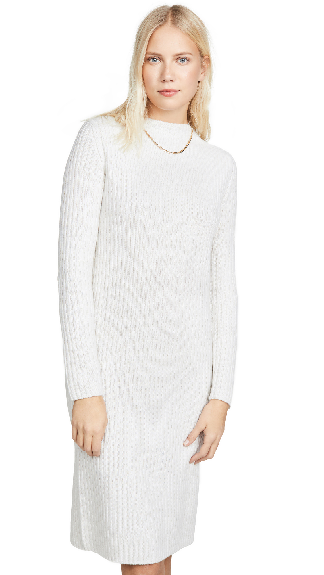 Buy Vince Ribbed Long Sleeve Dress online beautiful Vince Clothing, Dresses