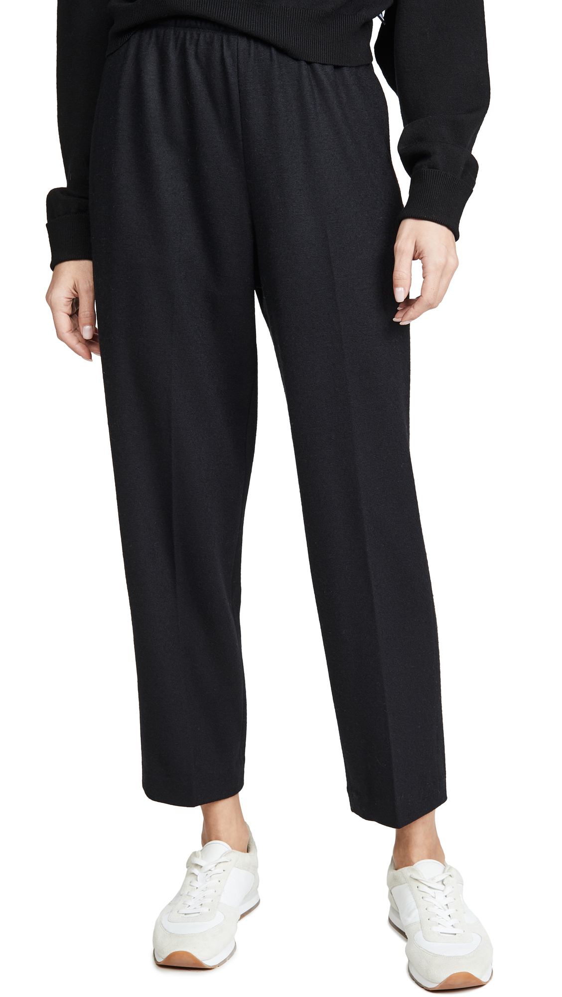 Buy Vince online - photo of Vince Cropped Tapered Pull On Pants