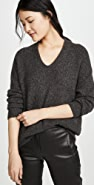 Vince Panel Back Cashmere Tunic