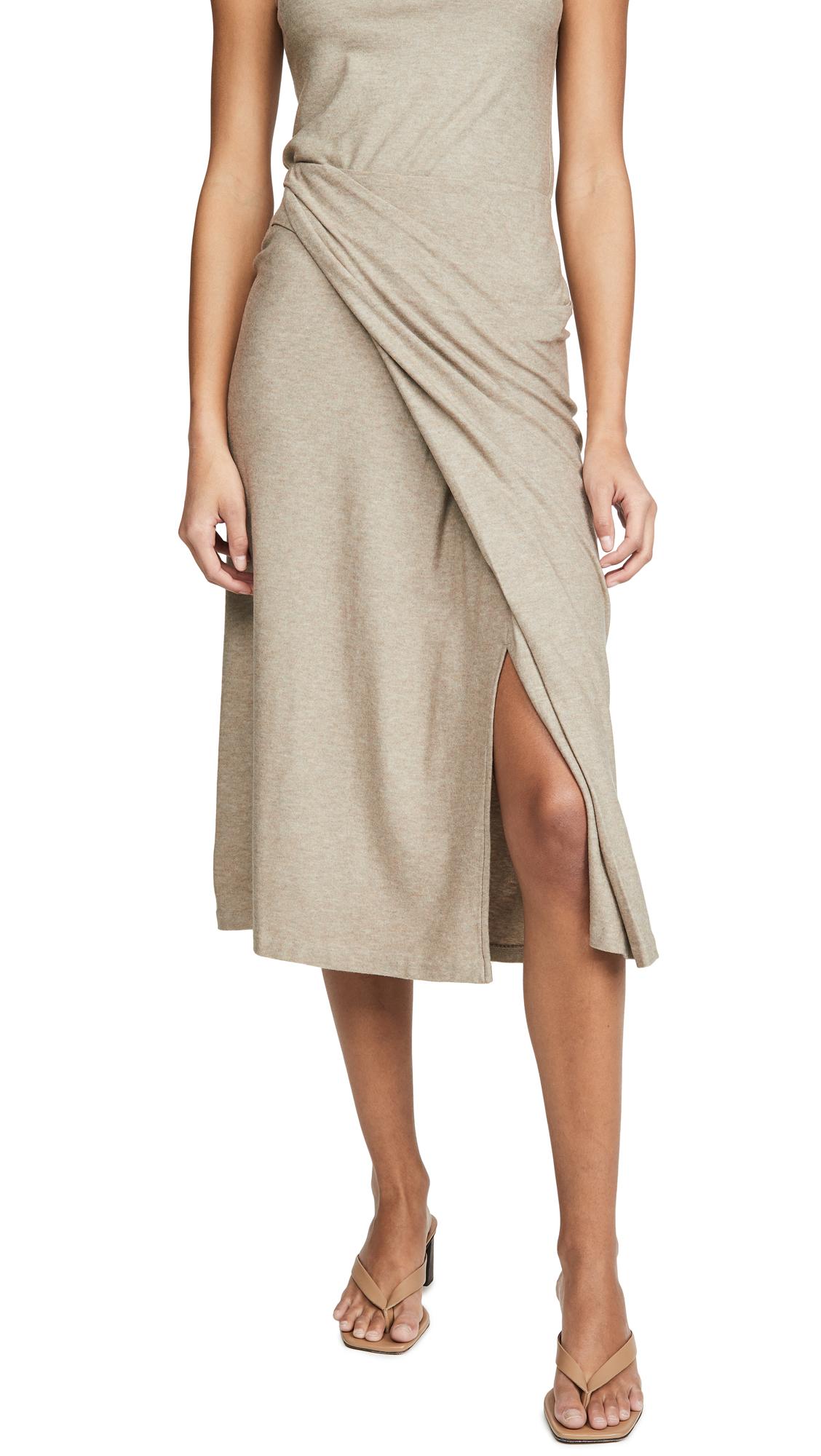 Buy Vince online - photo of Vince Draped Skirt
