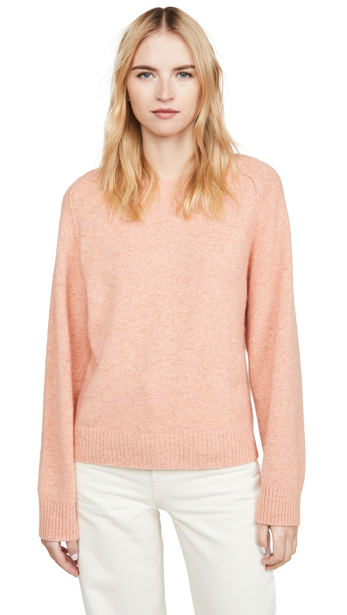 Buy Vince online - photo of Vince Band Collar Raglan Pullover