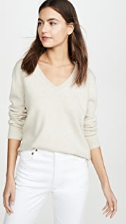 Vince Weekend V Neck Cashmere Sweater