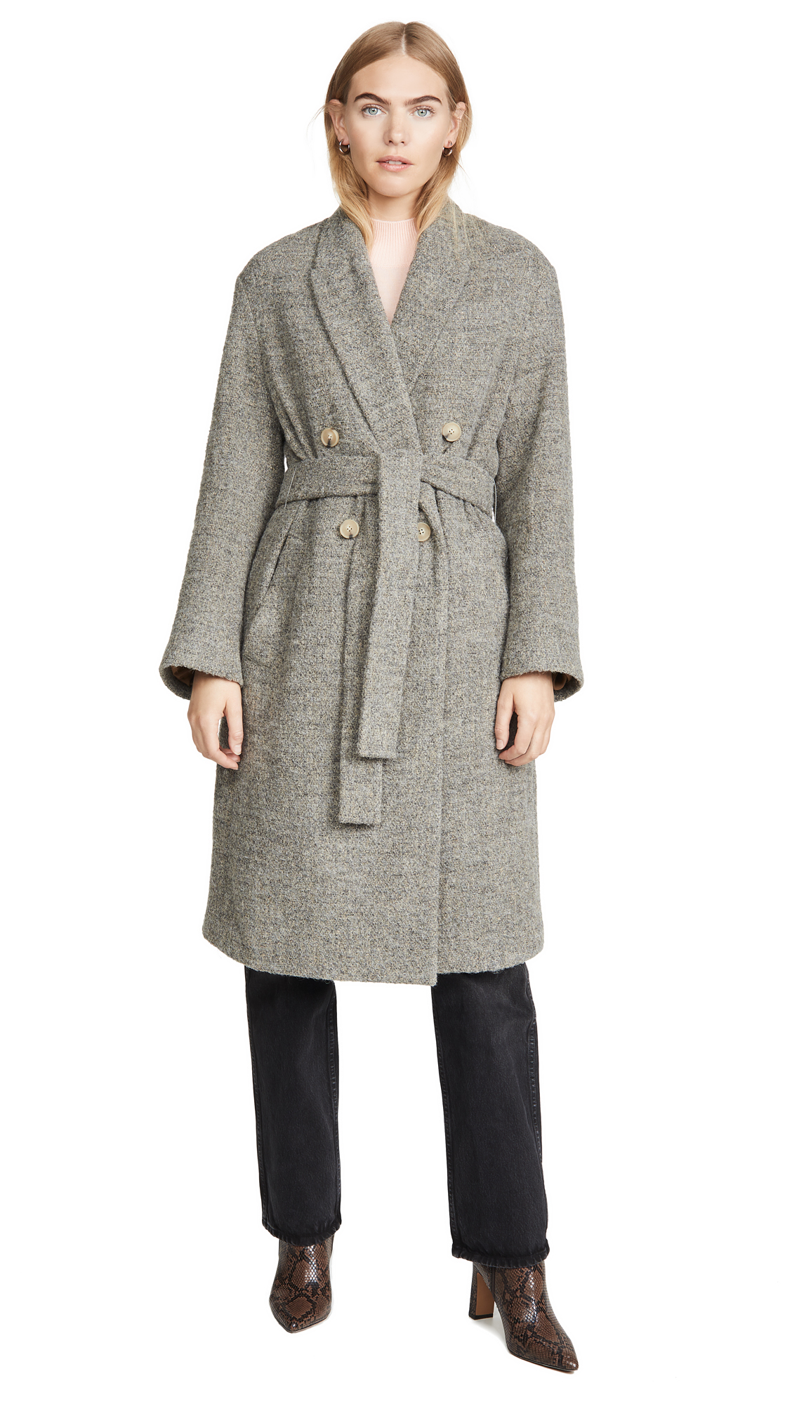 Buy Vince online - photo of Vince Pebble Texture Coat