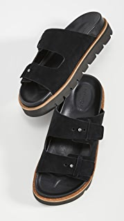 Vince Cypress Suede Slide Sandals