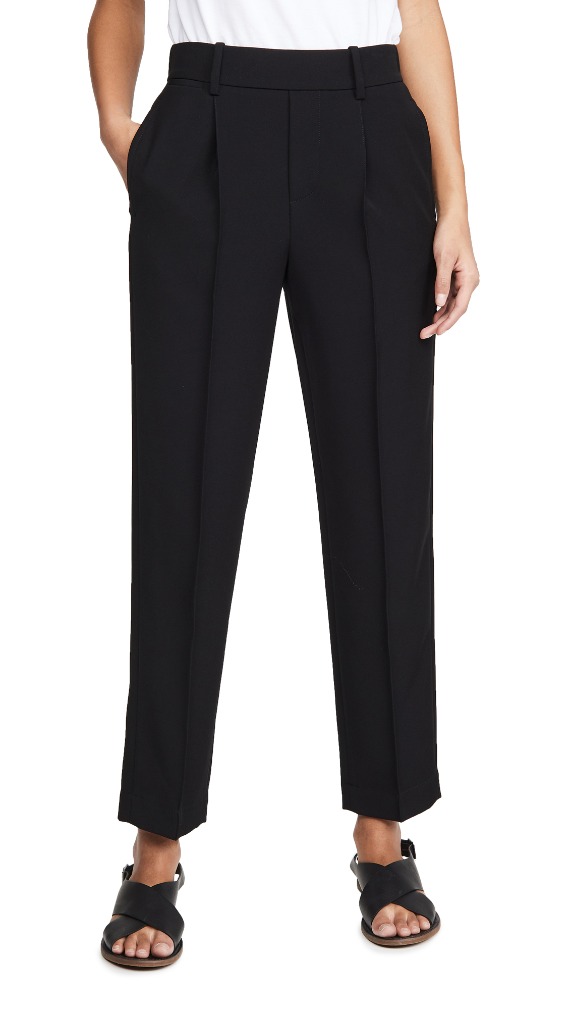 Buy Vince online - photo of Vince Tapered Pull On Pants