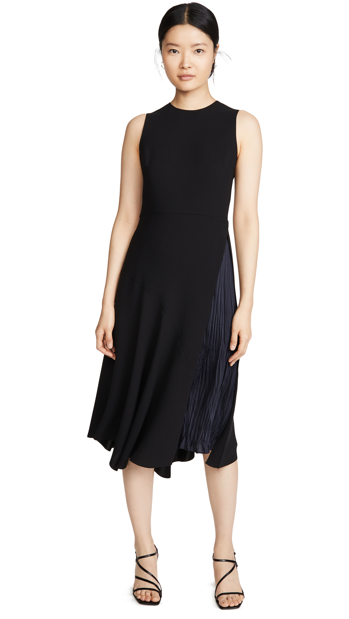 Buy Vince Mixed Panel Dress online beautiful Vince Clothing, Dresses