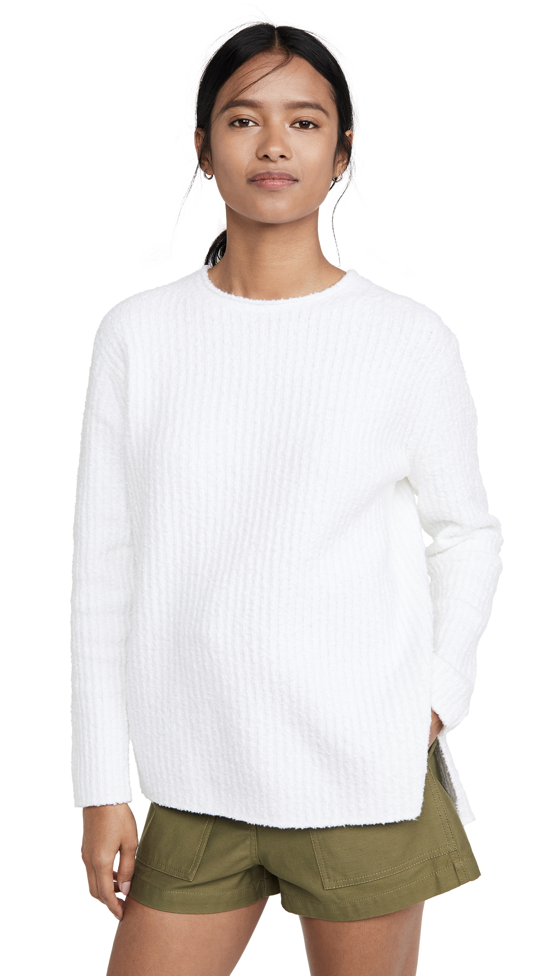 Buy Vince online - photo of Vince Texture Rib Tunic