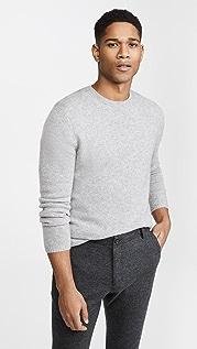 Vince Long Sleeve Plush Cashmere Sweater