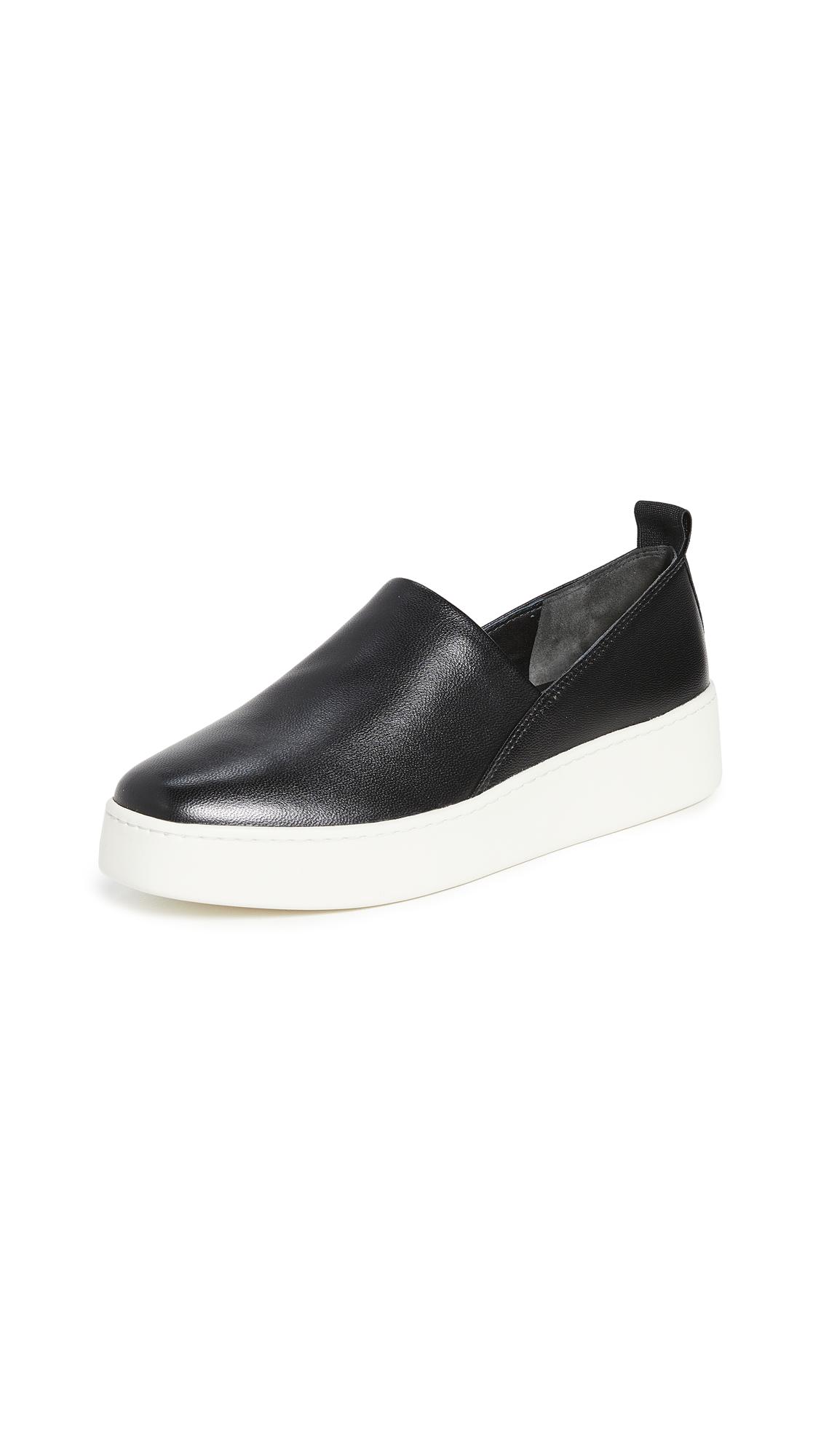 Saxon 2 Slip On Platform Sneakers