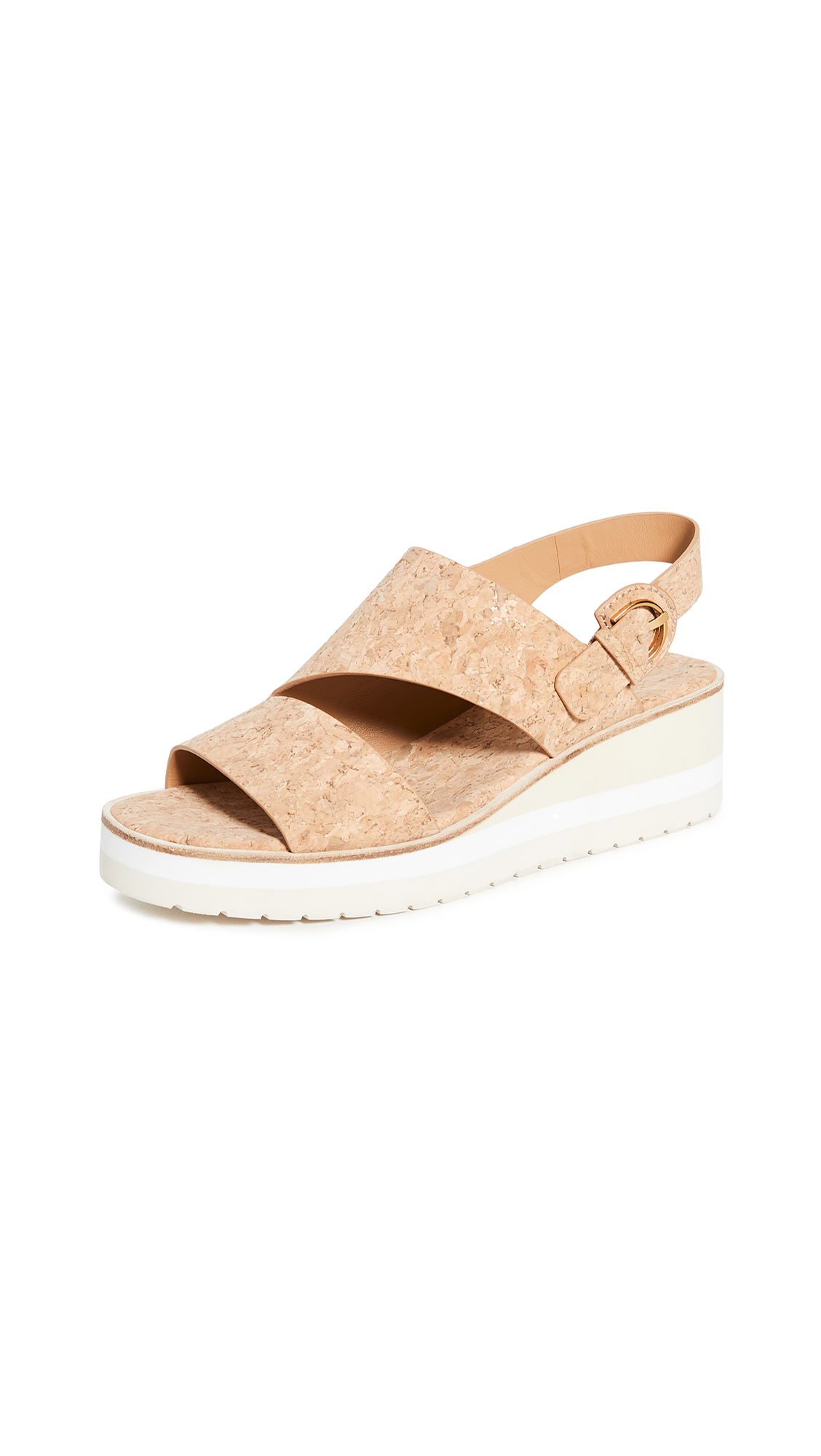 Vince Wedges SHELBY WEDGE SANDALS