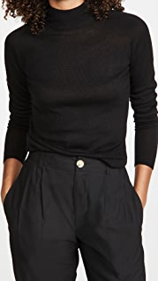 Vince Seamless Funnel Neck Pullover