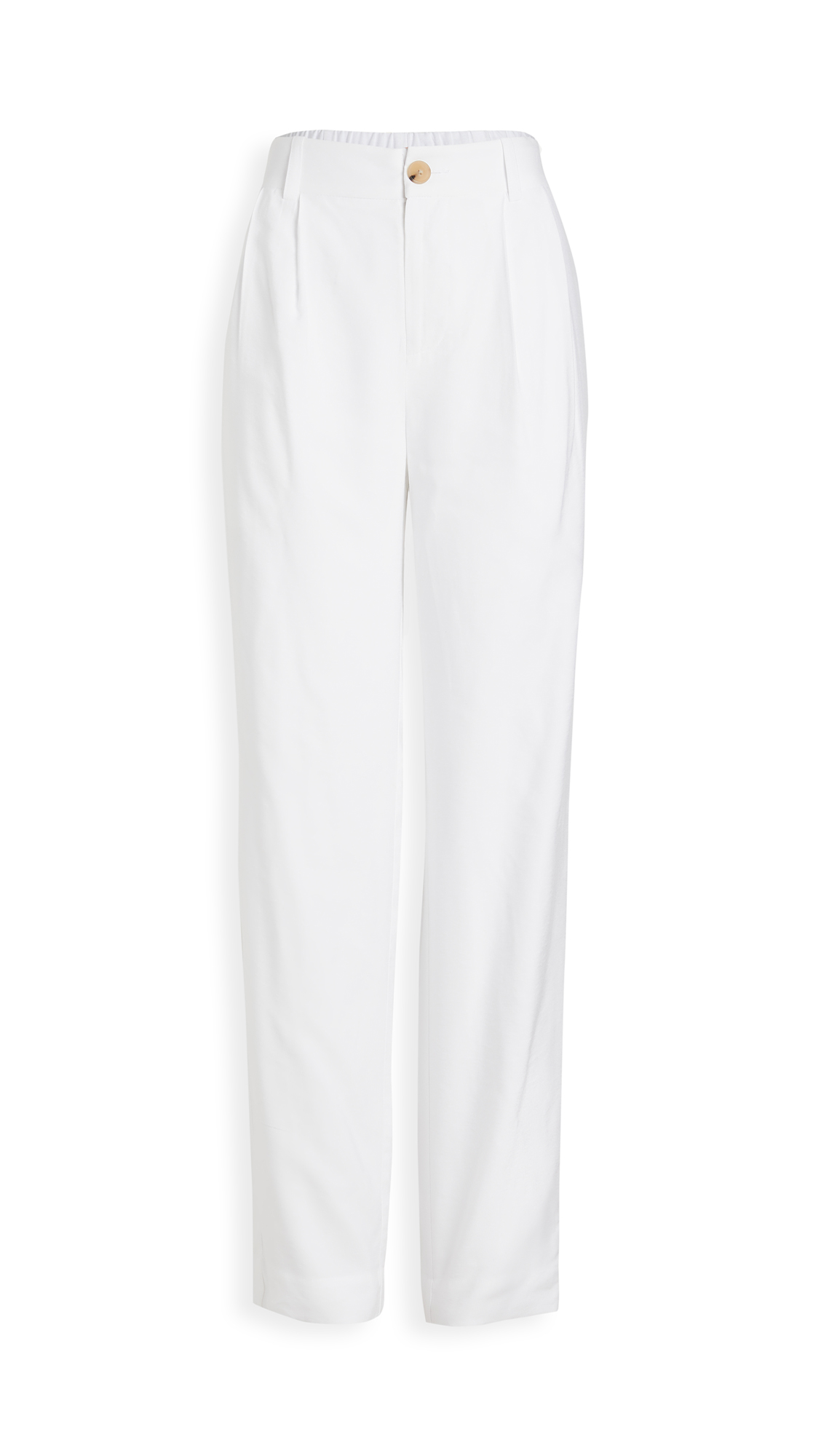 Vince Pleat Front Tapered Trousers