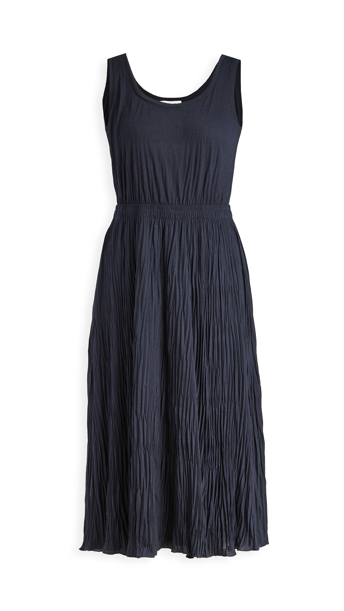 Vince Pleated Scoop Neck Tank Dress - 40% Off Sale