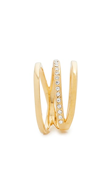 Vita Fede Helix Crystal Ring