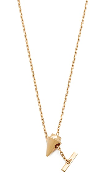 Vita Fede Delicate Titan Necklace - Gold