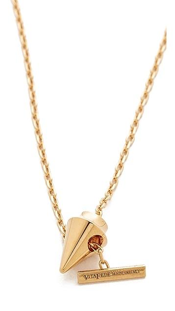 Vita Fede Delicate Titan Necklace