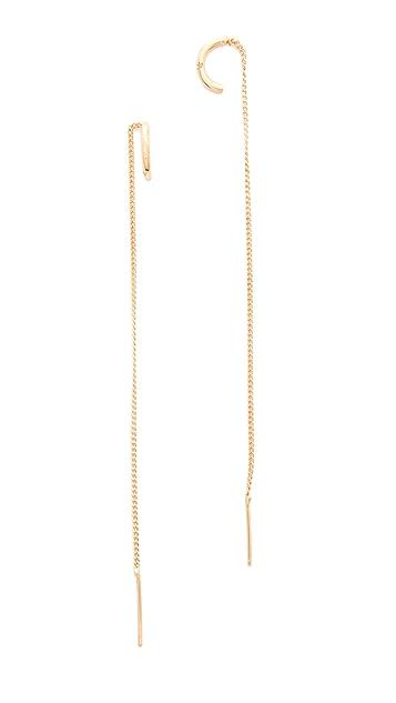 Vita Fede Luna Thread Earrings