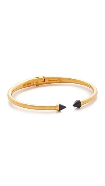 Vita Fede Ultra Mini Titan Stone Bracelet In Gold/Onyx