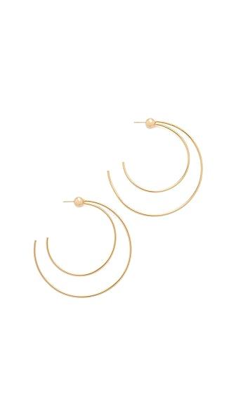 Vita Fede Sfera Due Hoop Earrings