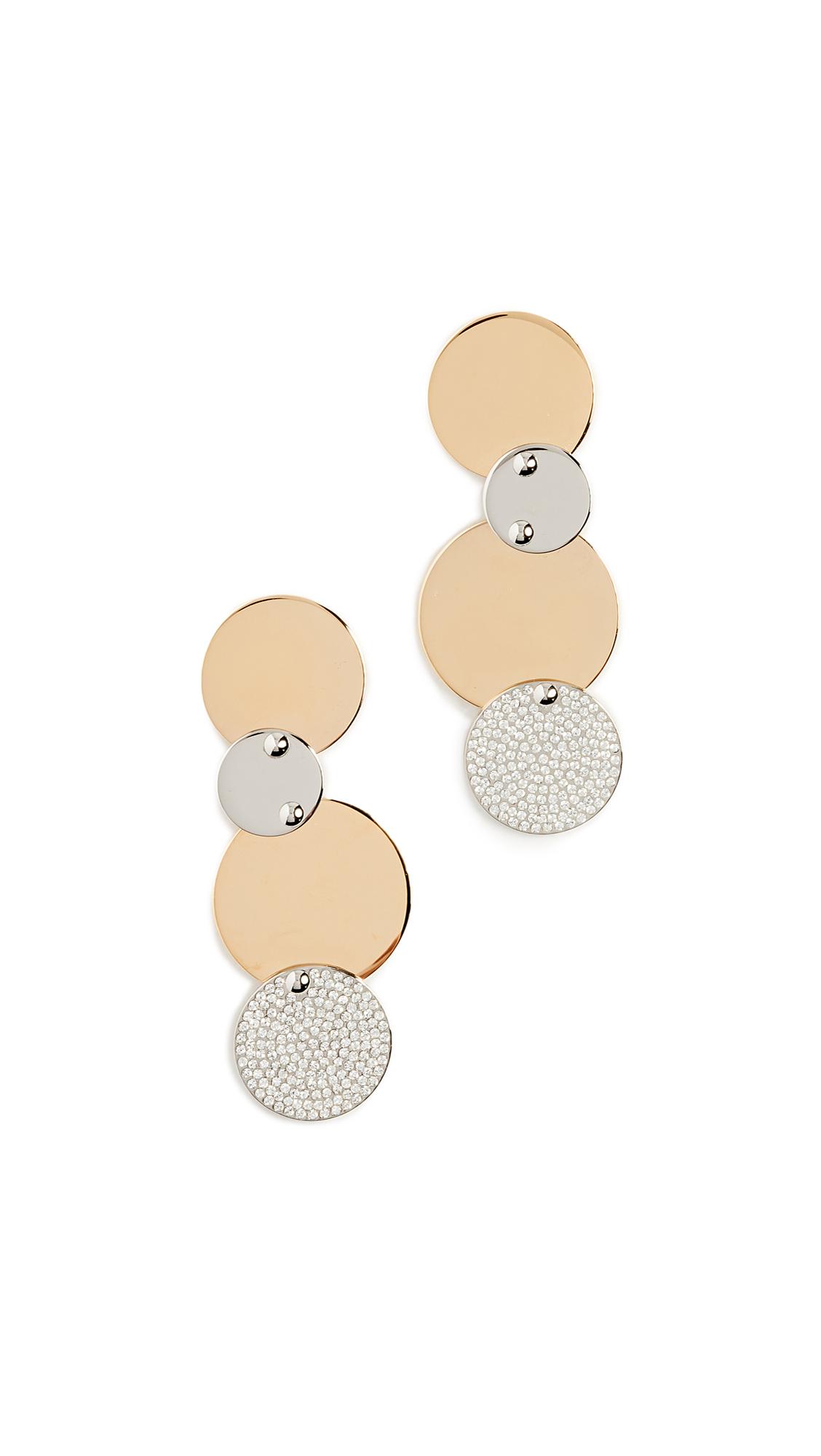 Vita Fede Giovanna Crystal Earrings