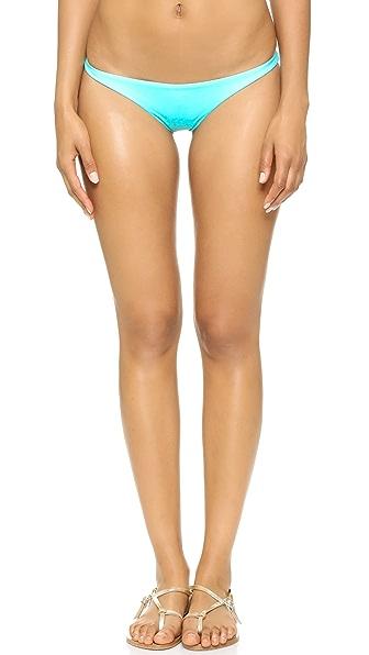 Vitamin A Samba Ruched Back Bikini Bottoms