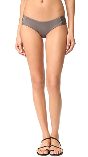 Vitamin A Emelia Triple Strap Bikini Bottoms