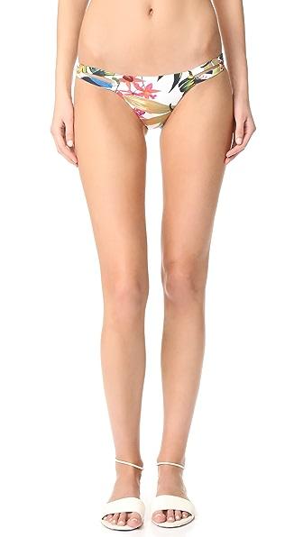 Vitamin A Lush Life Neutra Hipster Bikini Bottoms