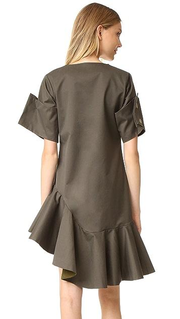 Viva Aviva Ruffle Dress