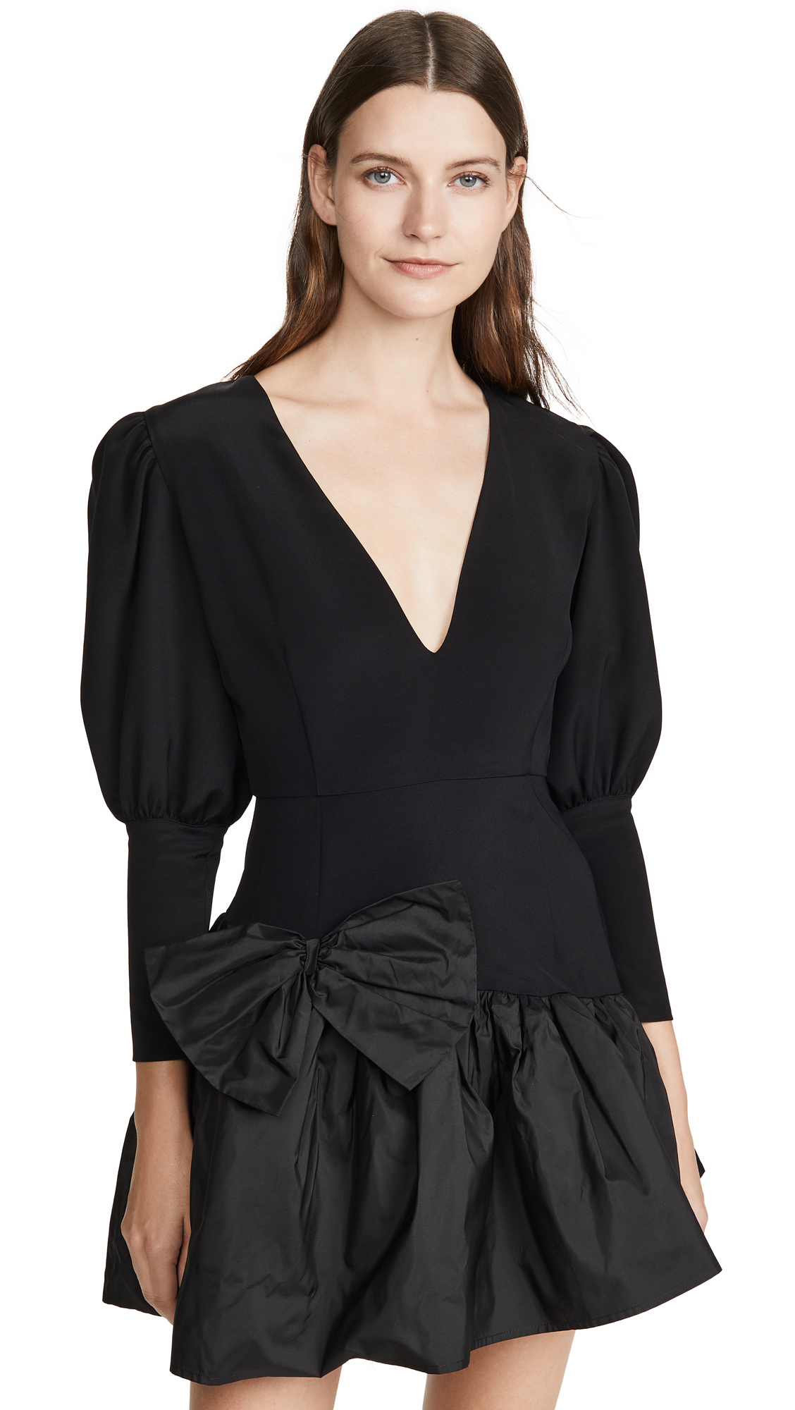 Buy Viva Aviva online - photo of Viva Aviva Nicole V Neck Puff Sleeve Dress