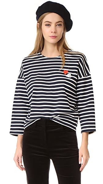 Vivetta Striped Sweatshirt