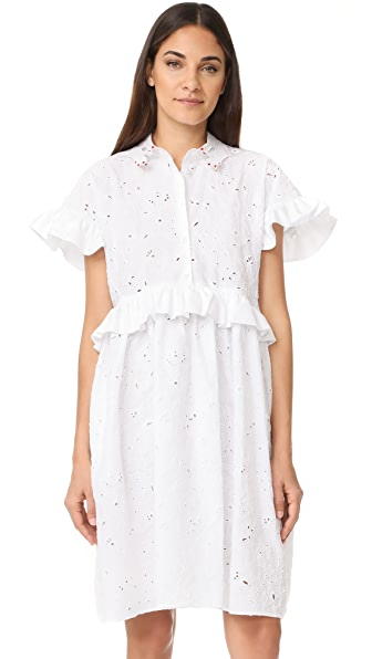 Vivetta Lace Short Sleeve Dress