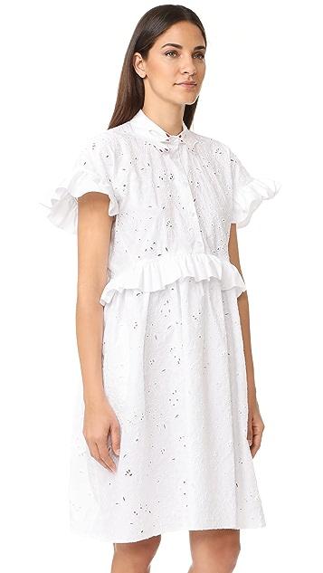 Vivetta Lace Short Sleeve Dress