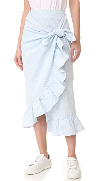 Vivetta Wrap Skirt - Blue