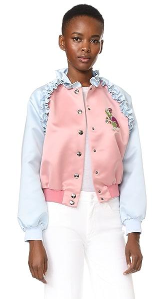 Vivetta Santa Fe Jacket In Pink/Blue