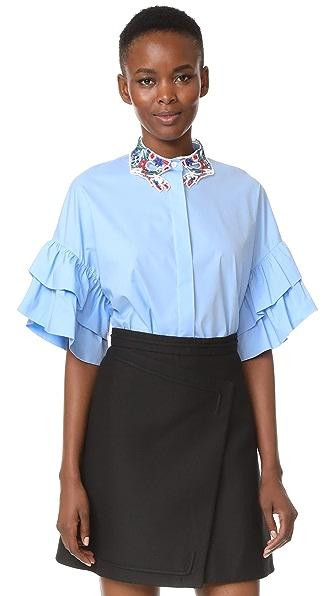 Vivetta Nicosia Blouse In Blue