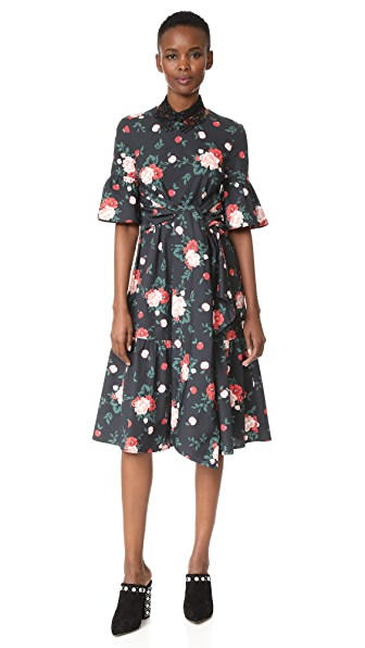 Vivetta Gran Canaria Dress - Multi Black