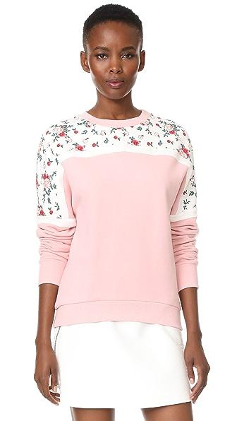 Vivetta Togo Sweatshirt - Pink