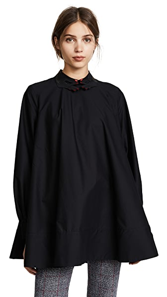 Vivetta Looneyville Blouse In Black